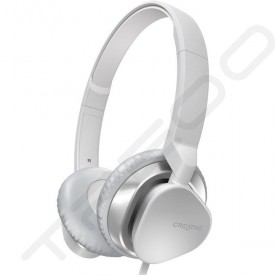 Creative Hitz MA2300 On-Ear Headphone with Mic - White