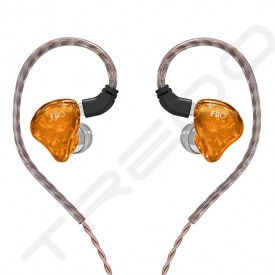 FiiO FH1s 2-Driver Hybrid In-Ear Earphone - Amber Yellow