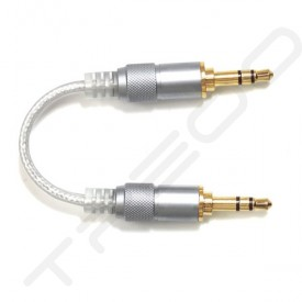 FiiO L16 Straight 3.5mm to Straight 3.5mm PCOCC-A Copper Interconnect Cable