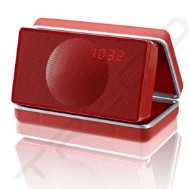 Geneva Model XS Wireless Bluetooth Portable Speaker - Red