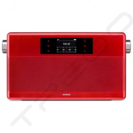Geneva WorldRadio Wireless Bluetooth Speaker - Red