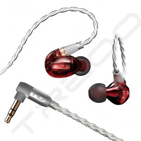 NuForce HEM1 In-Ear Earphone - Red