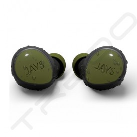 JAYS m-Seven True Wireless Bluetooth In-Ear Earphone with Mic - Green