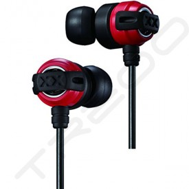 JVC HA-FX11X In-Ear Earphone - Red Black