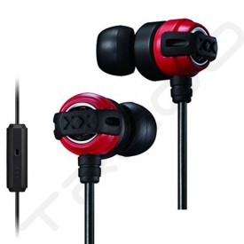 JVC HA-FX11XM In-Ear Earphone with Mic - Red Black