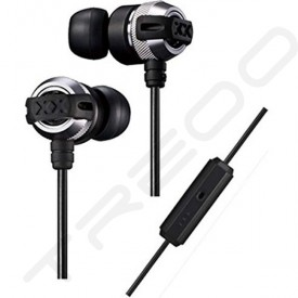 JVC HA-FX33XM In-Ear Earphone with Mic - Silver