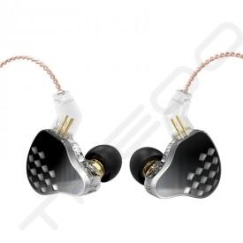 KBEAR Robin 5-Driver Hybrid In-Ear Earphone - Black