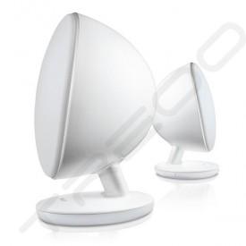 KEF EGG Desktop 2.0 Wireless Bluetooth Speaker System - White