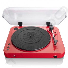 Lenco L-85 Belt Drive Digital Turntable - Red