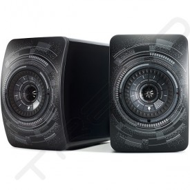 KEF LS50W 2.0 Wireless Bluetooth Desktop Bookshelf Speaker System - Nocturne