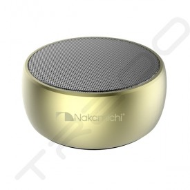 Nakamichi MyMeiryo Wireless Bluetooth Portable Speaker - Champagne Gold