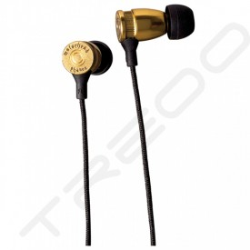 Motörheadphönes Overkill In-Ear Earphone with Mic - Brass