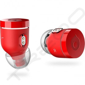 crazybaby Air (NANO) True Wireless Bluetooth In-Ear Earphone with Mic - Red
