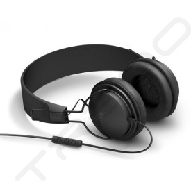NOCS NS300 Street On-Ear Headphone with Mic - Black