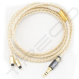 NocturnaL Audio Asteria Trimetal 8-conductor Silver+Gold Plated Copper Custom Cable