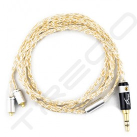 NocturnaL Audio Asteria Trimetal 4-conductor Silver+Gold Plated Copper Custom Cable
