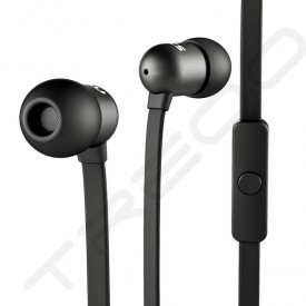 NOCS NS400 Aluminum In-Ear Earphone with Mic - Black