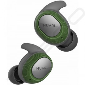 NUARL NT100 True Wireless Bluetooth In-Ear Earphone with Mic - Green