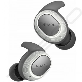 NUARL NT100 True Wireless Bluetooth In-Ear Earphone with Mic - White