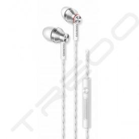 Onkyo E300M In-Ear Earphone with Mic - White