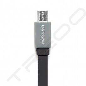 thecoopidea Pasta Micro-USB to USB Cable - Black