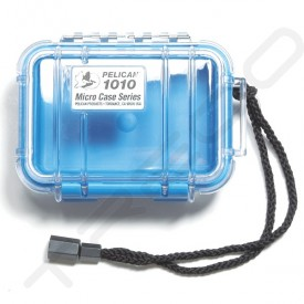 Pelican 1010 Micro Case - Clear Blue