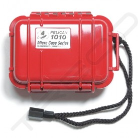 Pelican 1010 Micro Case - Solid Red