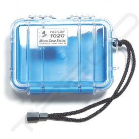 Pelican 1020 Micro Case - Clear Blue