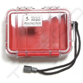 Pelican 1020 Micro Case - Clear Red