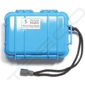 Pelican 1020 Micro Case - Solid Blue