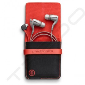 Plantronics BackBeat GO 2 + Charging Case Wireless Bluetooth In-Ear Earphone with Mic - White