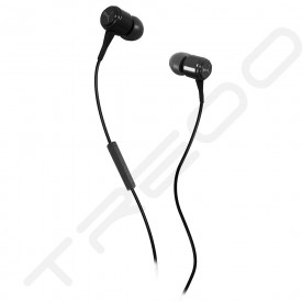 Puma Bread-N-Butter In-Ear Earphone with Mic - Black