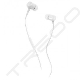 Puma Bread-N-Butter In-Ear Earphone with Mic - White