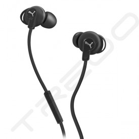 Puma Bulldog Sport-Lite In-Ear Earphone with Mic - Black