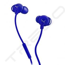 Puma Bulldog Sport-Lite In-Ear Earphone with Mic - Blue