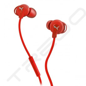 Puma Bulldog Sport-Lite In-Ear Earphone with Mic - Red