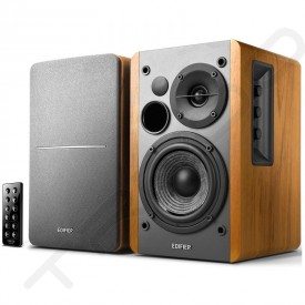 Edifier R1280DB BT 2.0 Wireless Bluetooth Desktop Bookshelf Speaker System - Brown