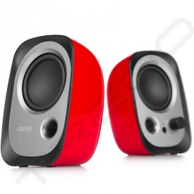 Edifier R12U 2.0 Desktop Bookshelf Speaker System red