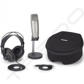 Samson C01U Pro Podcasting Pack USB Cardioid Condenser USB Microphone