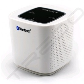 SCOTT BT700 Wireless Bluetooth Portable Speaker - White