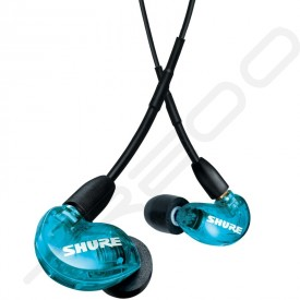 Shure AONIC 215 Special Edition In-Ear Earphone with Mic - Blue -1