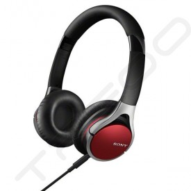 Sony MDR-10RC On-Ear Headphone with Mic - Red