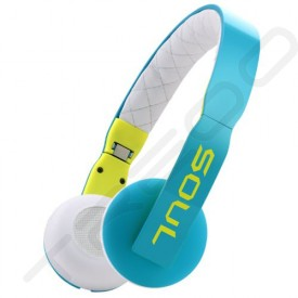 Soul by Ludacris LOOP On-Ear Headphone with Mic - Blue