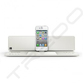 SoundFreaq Sound Step Recharge SFQ-02 Wireless Bluetooth Dock 2.1 Speaker System - White