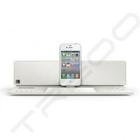 SoundFreaq Sound Step Recharge SFQ-02 Wireless Bluetooth Dock 2.1 Speaker System - White