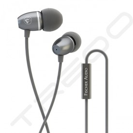 Fischer Audio Totem Paco FE-131 In-Ear Earphone with Mic - Classic Silver