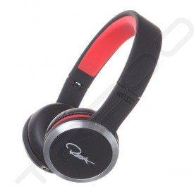 WeSC Chambers by RZA Street Noise-Cancelling On-Ear Headphone with Mic - Black/Red
