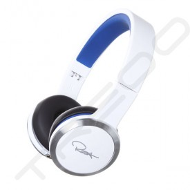 WeSC Chambers by RZA Street Noise-Cancelling On-Ear Headphone with Mic - White/Blue