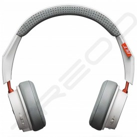 Plantronics BackBeat 505 Wireless Bluetooth On-Ear Headphone with Mic - White