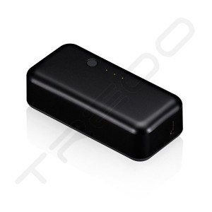 Just Mobile Gum 2200mAh Portable Charger - Black